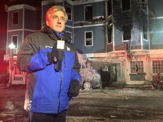 Charlestown Fire, December 2016